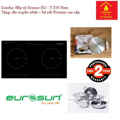 Bếp từ Eurosun EU-T210 NOTE