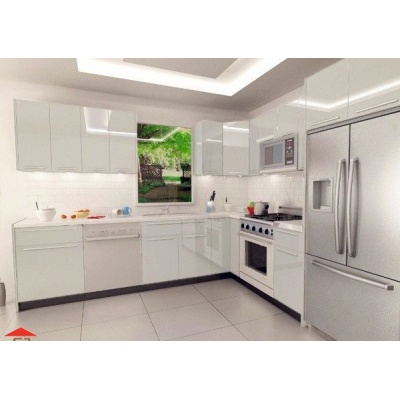 Tủ bếp Acrylic Melamine Picomat